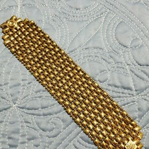 Jewelry - SG. Sergio Gutierrez antique gold tone bracelet